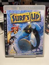 Surf s up Sony Playstation 3 ps3 Spiel mit Handbuch Offiziell UK Pal VGC
