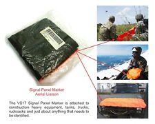 USGI Signal Panel Marker Aerial Liaison VS-17/GVX 6' x 2' Orange / OD Green