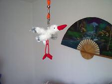 Plüschtier Storch Stofftier Kuscheltier Geburt Taufe Störche Vogel Vögel Tiere