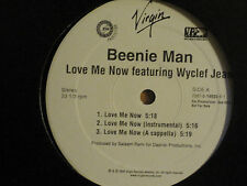 "BEENIE MAN LOVE ME NOW AIN'T NOBODY 12"" OG '00 REGGAE HIP HOP R&B WYCLEF JEAN NM"