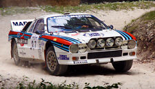 Lancia Abarth 037 Rally XXL ONE PIECE NOT SECTIONS Over 1 Meter Wide Poster!