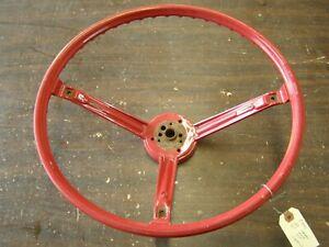 NOS OEM Chevrolet 1967 1968 Impala Camaro Nova Steering Wheel Red SS Chevy
