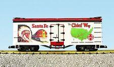 "Brand New U.S.A. Trains USA G Santa Fe ""Chief Way"" Refrigerator Car # R16003"