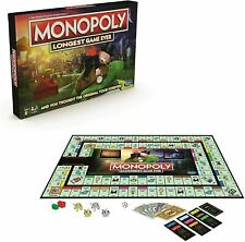Hasbro Monopoly LONGEST Game Ever Board Game 🎲 FREE SHIPPING SHIPS NOW! 🎲