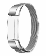Milanese Loop Stainless Steel Bands Magnetic Clasp for Fitbit Alta Hr Ace Silver