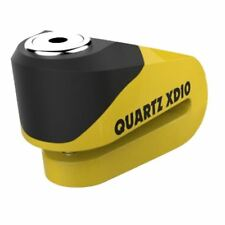 Oxford Quarz XD 10 Motorrad Roller Bremsscheibenschloss 10mm Stecker Gelb/