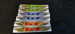 Gt bmx handle bar sticker
