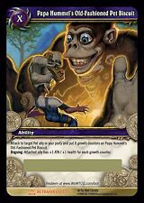 Papa Hummel's Old-Fashioned Pet Biscuit World of Warcraft loot card