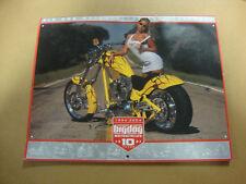 BIG DOG MOTORCYCLES 2004 CALENDAR 12 MONTH W/ BIKES BABES RARE CHOPPER PHOTOS