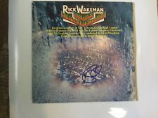 Yes Rick Wakeman signed lp Journey to the Cener of the Earth