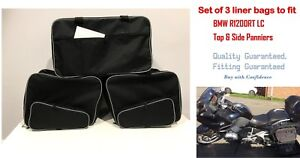 PANNIER LINER BAGS INNER SIDE & TOP BOX BAGS TO FIT BMW R1200RT LC NEW PANNIERS