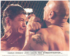 The Streetfigter Hard Times Original Lobby Card Charles Bronson fighting