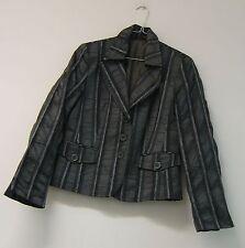 Gestreifte einreihige Damen-Anzüge & -Kombinationen mit Blazer