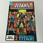 TALES OF THE NEW TEEN TITANS #44 DC Copper Age Key 1st NIGHTWING APPEARANCE #B