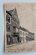 29433 AK Bergisch Gladbach Vereinshaus mit Straße um 1915