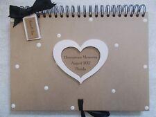 Personalised Handcrafted A4 Honeymoon Memories Photo Album Scrapbook QUICK POST