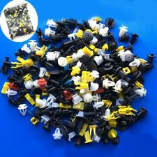 Plastic 200pcs Auto Car Various Rivet Fasteners Push Pin Bumper Fender Panel Hot