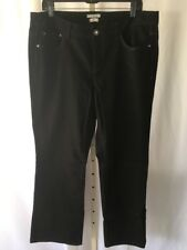 Tommy Hilfiger Hope Classic Rise Bootcut Black Jeans Size 14