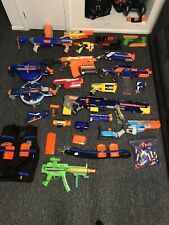 Nerf Gun Assortment - Multiple Blasters, Sound Blasters, and Accessories