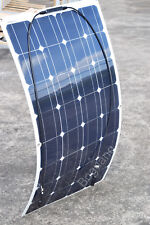 100W Flexible Solar Panel Mono Module Boat Roof RV Car 12V Battery Power Charger