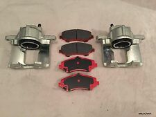 2xFront Brake Caliper & CERAMIC Pads Dodge Journey 09-12/Nitro 07-11 BRK/JC/005A