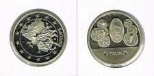 Penning met afbeelding 1 euro en munten Malta (a103)
