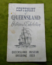 #D604. 1959 Centenary Of Queensland Historical Exhibition Booklet