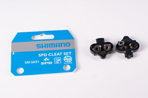 Shimano SM-SH51 Cleat Set Bicycle SPD Pedals Cycling Cleats Touring Racing NIB