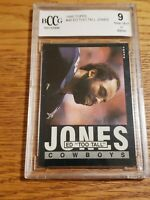 1985 Topps Football Card #46 Ed Too Tall Jones - beckett 9