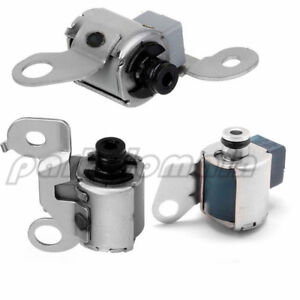 3PCS A340 A343 TRANSMISSION MASTER SHIFT SOLENOID KIT FOR TOYOTA LEXUS 2002-08