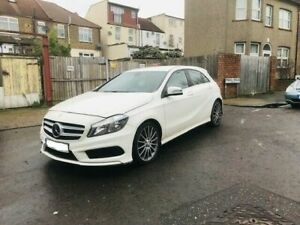 MERCEDES-BENZ A CLASS W176 FRONT END BREAKING