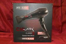 CHI Air CA2148 1875W Ceramic Hair Dryer Onyx Black BONUS Brush & Pouch New N1