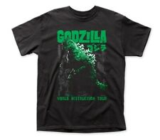 Godzilla King of the Monsters World Destruction Tour Adult T-Shirt XXXL UNWORN