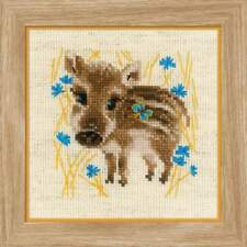 Counted Cross Stitch Kit RIOLIS - Little Boar