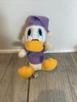 Mickey's A Christmas Carol Disney Scrooge McDuck Plush Toy Vintage 1980's 8""