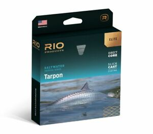 NEW RIO ELITE TARPON WF-9-F #9 WT FLOATING FLY LINE IN SEAGRASS/ORG/SAND COLOR