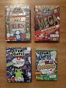 Tom Gates 3 Hardcover Bücher,   1 Taschenbuch wie neu