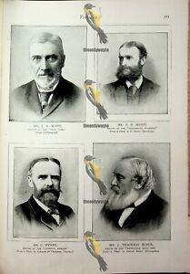 Editors (3), J Scott, C Scott, G Wynne, Thackray Bunce, Book Illustration, 1893