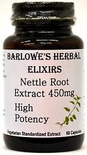 NETTLE ROOT HI POTENCY EXTRACT - Slows Binding - Stearate Free, Bottled in Glass