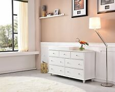 Brand new 7 chest of  drawers with removable change table top