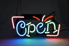 """New Open Sign Neon Light Sign Lamp Beer Pub Acrylic 14"""""""