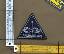 "Ricamata / Embroidered Patch ""ISAF SOF Afghanistan"" with VELCRO® brand hook"