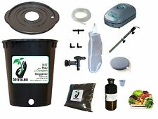 Complete Kit 20L black for tea compost aerated : pump filter tea compost brewer