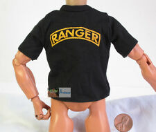 US 1:6 Action-Figur Modell Accessory Ranger Army lack T-Shirt DA78