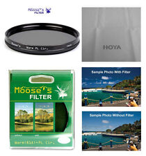 Hoya 82mm Moose Warming Circular Polarizer Filter.  U.S. Authorized Dealer