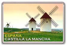 CASTILLA LA MANCHA ESPAÑA FRIDGE MAGNET SOUVENIR IMAN NEVERA