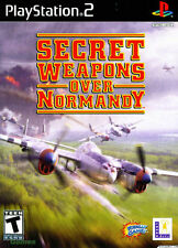 Secret Weapons Over Normandy (Sony PlayStation 2, 2003)MINT COMPLETE multiplayeR