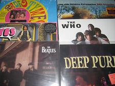 LIVE ON BBC BEATLES DEEP PURPLE HENDRIX YES YARDBIRDS WHO 12 LP'S 150+ TRACKS