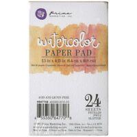 """Prima Marketing Watercolor Paper Pad 2.5""""x4.25"""" 24/pkg-"""