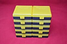 22 lr Ammo Box / Case / Storage (10 Pack Yellow) 1000 Rnds of Storage (No Ammo)